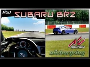 Assetto Corsa Dual View - Subaru BRZ (Mod) @ Nürburgring GP