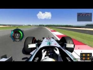 Assetto Corsa - F1 2014 Mercedes F1 W05 - Silverstone Hotlap 1:34.668