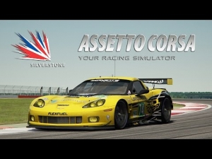 Assetto Corsa [HD+] ★ Corvette C6r GTE 2013 BETA ★ Silverstone GP