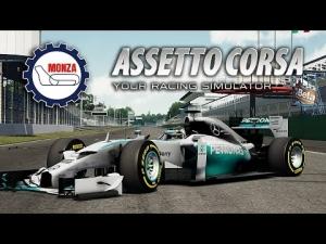 Assetto Corsa [HD+] ★ Mercedes F1 W05 Hybrid ★ Monza GP