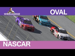 2014  Round 21 Pocono #iRacing NASCAR Fixed Series