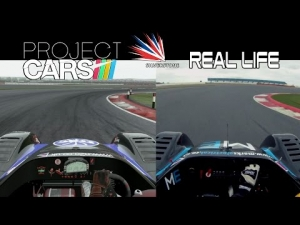 Project CARS Vs Real Life - Radical @ Silverstone