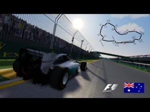 Assetto Corsa - F1 2014 Mercedes on Albert Park