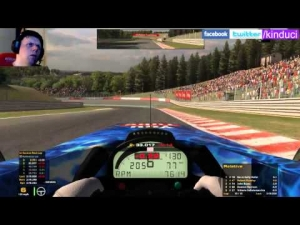 iRacing BSRF1 Season 2 Round 1 from Spa Francorchamps - Solid 2nd place drive