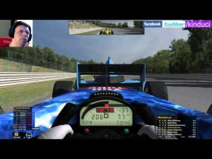 iRacing Star Mazda Official race at Spa Francorchamps - from 18th to 6th in top split
