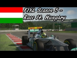 F1XL Season 5 - Race 14. Hungary