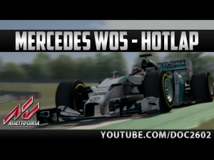 Assetto Corsa | Mercedes W05 - Nürburgring | Hotlap + Replay | HD