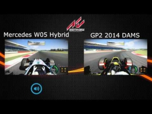 Assetto Corsa - First Look - Comparison 5! F1 vs. GP2 2014!