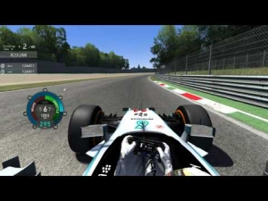 [Assetto Corsa] 2nd day of Practice@Monza, Inner Lap 1:24:811
