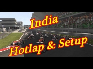 F1 2013 - India - Hotlap & Setup - 1:23:516