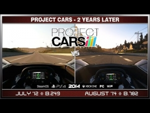 Project CARS Comparison - 2 Years Later (BAC Mono @ California Highway)