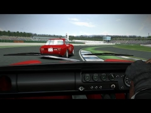 GTR²: Lotus Cortina Vs Alfa 1300 GTA, Online Battle at Hockenheim [Power & Glory V3.1]