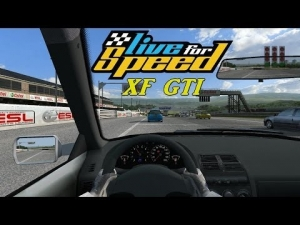Live For Speed - XF GTI @ Blackwood GP Track