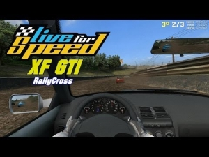 Live For Speed - XF GTI @ Blackwood RallyCross