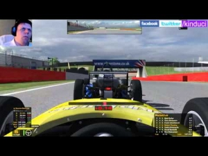 iRacing Official Skip Barber race from Silverstone - Good fun clean race