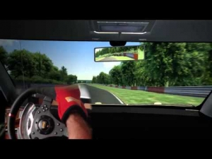 Assetto Corsa - Test Seat Ibiza VR6 engine