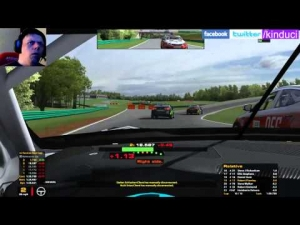 iRacing BSRTC Season 6 Round 6 from Virginia International Raceway - 32nd to 15th