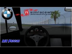 Simraceway - BMW M1 Procar - Como hacer un trompo perfecto !!! Auto Club Speedway   Oval