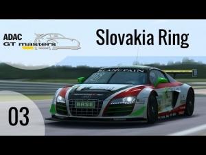 R3E ADAC GT masters #03 - Audi R8 LMS ultra @ Slovakia Ring [HD]
