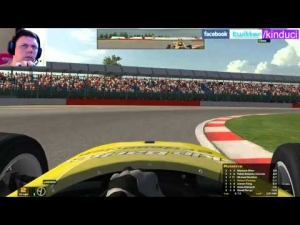 iRacing Skip Barber official race at Silverstone Historic GP - 2nd to last, back to 4th.