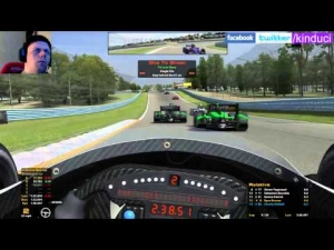 iRacing 50/50 DW12 Championship from Watkins Glen International - I Survived!