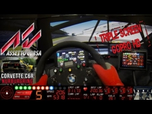Assetto Corsa - Test Telemetry Corvette C6R @ Nurburgring