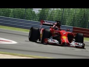 Assetto Corsa F1 2014 Raikkönen Onboard Silverstone