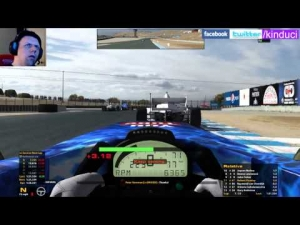 iRacing BSRF1 Season 2 Round 2 from Laguna Seca - Good drive after early error