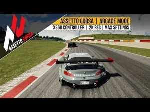 [ Assetto Corsa ] Arcade Mode Test | X360 Controller | 2k Resolution | Max Settings