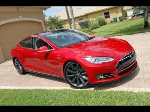 Assetto Corsa - Drifting a Tesla Model S + POV