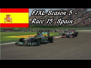 F1XL Season 5 - Race 15. Spain