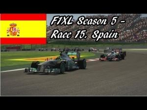F1XL Season 5 - Race 15. Spain