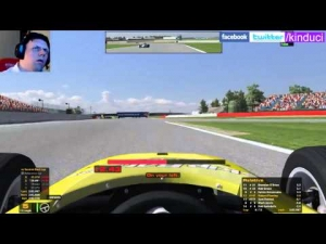 iRacing UK&I Skip Barber League Race Season 3 2014 Round 2 from Silverstone - Good racing guys!