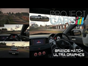 Project CARS - Ultra Graphics Brands Hatch @ Mitsubishi Evo (Multiview)