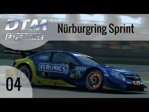 R3E DTM Experience #04 - Mercedes AMG C-Coupé @ Nürburgring Sprint [HD]