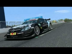 Nürburgring - Virtual Lap with Christian Vietoris in the Mercedes-Benz DTM Beast!