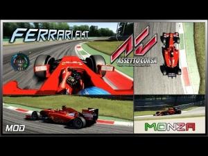 Assetto Corsa MultiCam - Ferrari F14T (Mod) @ Monza Circuit