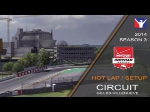 iRacing Indycar DW12 @ Circuit Gilles-Villenueve | Setup & Hotlap 1'20.994