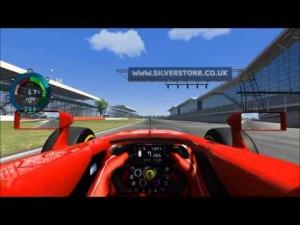 [Assetto Corsa] Practice @ Silverstone, Ferrari F14T - 1:34:831