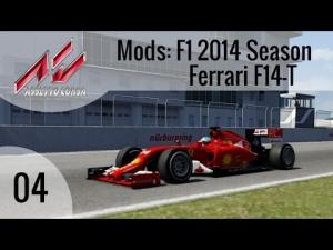 Assetto Corsa Mods #04 - F1 2014 Season Ferrari F14-T @ Nürburgring GP [HD]