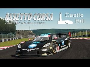 Assetto Corsa [HD++] ★ Dallara Corvette DP ★ Castle Hill