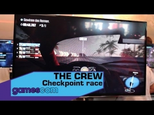 THE CREW -  Checkpoint race - Gamescom 2014
