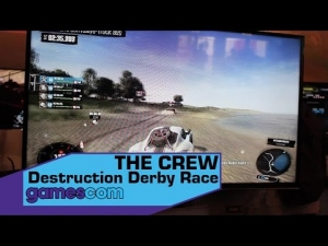 THE CREW - Destruction Derby Race - Gamescom 2014