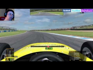 iRacing Skip Barber Official race at Donnington Park