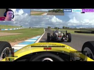 iRacing Skip Barber Official race at Donnington Park 2