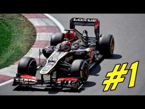 [#1] F1 2013 - Własny sezon Kimim Raikkonenem - GP Australii