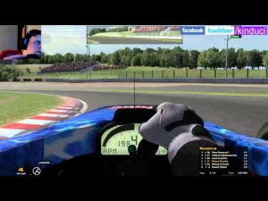 iRacing BSRF1 Season 2 Round 1 from Suzuka Part 1 of 2- What a race!