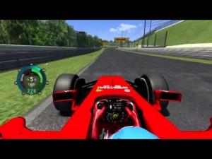 Ferrari F14T @ Suzuka Assetto Corsa
