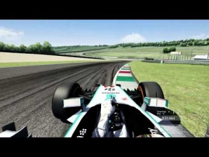 Assetto Corsa  Mercedes W05 LEWIS on Mugello Hotlap (1.22.228)