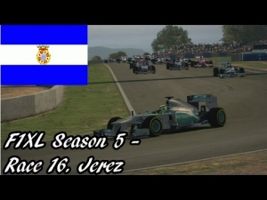 F1XL Season 5 - Race 16. Jerez